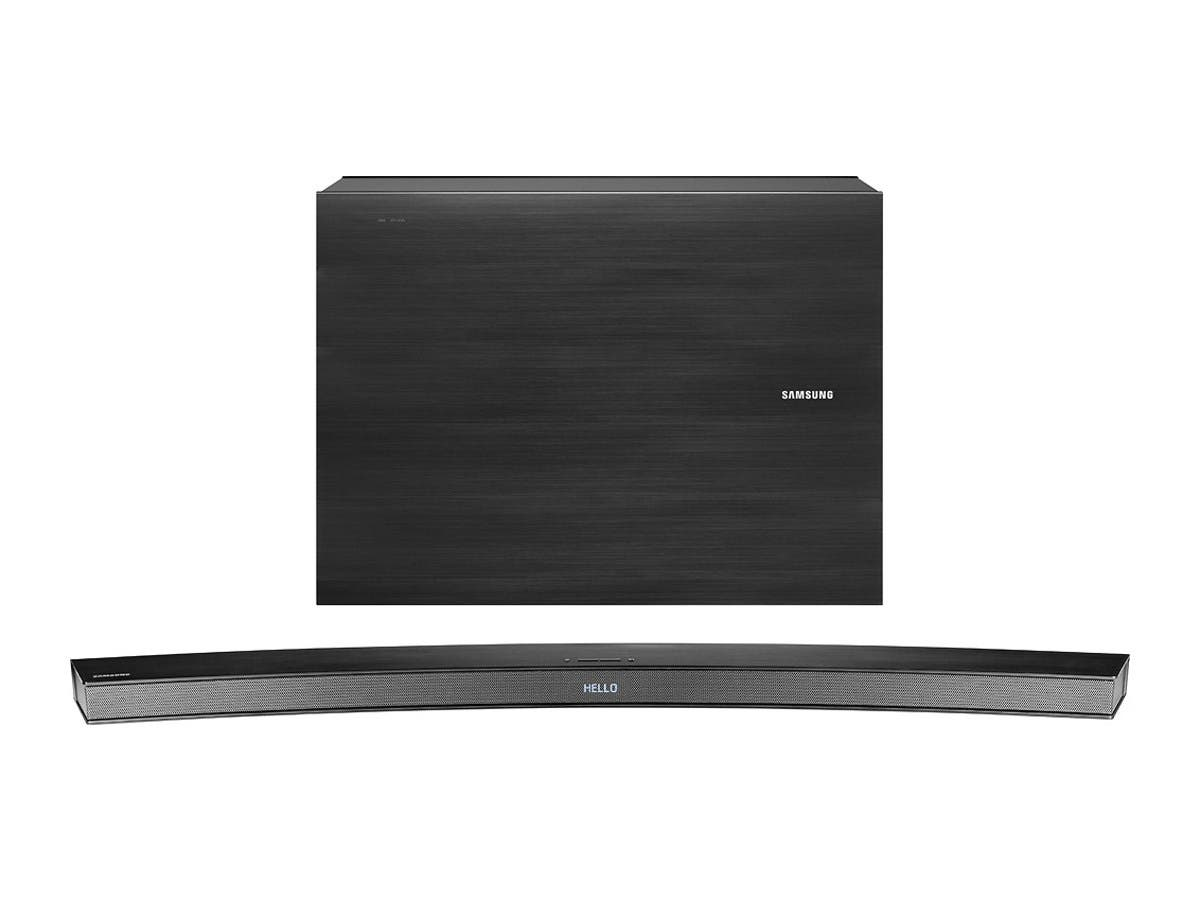 Samsung HW-JM4000C/ZAR 2.1-Channel Curved Soundbar System with Wireless Subwoofer - Black (Recertified)