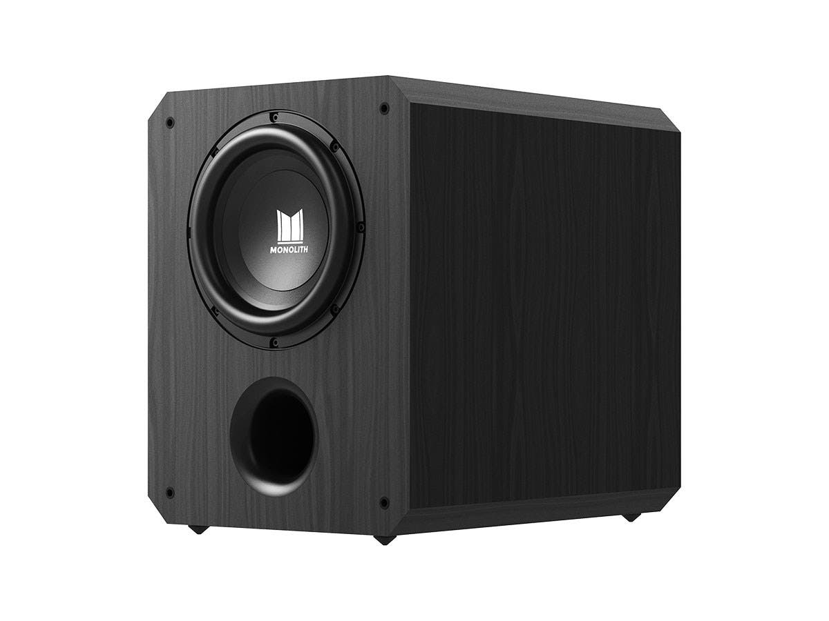 "Monolith by Monoprice 10"" THX Select Certified 500 Watt Powered Subwoofer-Large-Image-1"