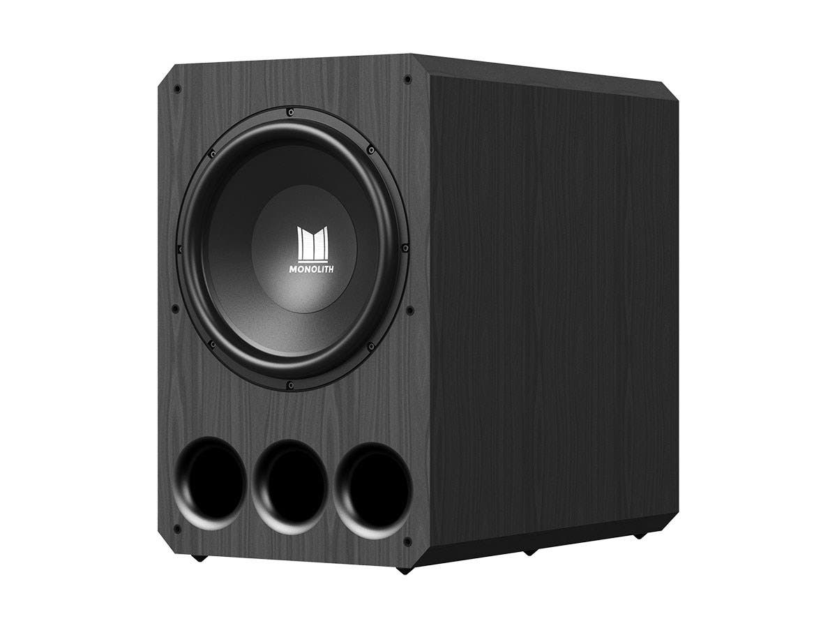 "Monolith by Monoprice 15"" THX Ultra Certified 1000 Watt Powered Subwoofer-Large-Image-1"
