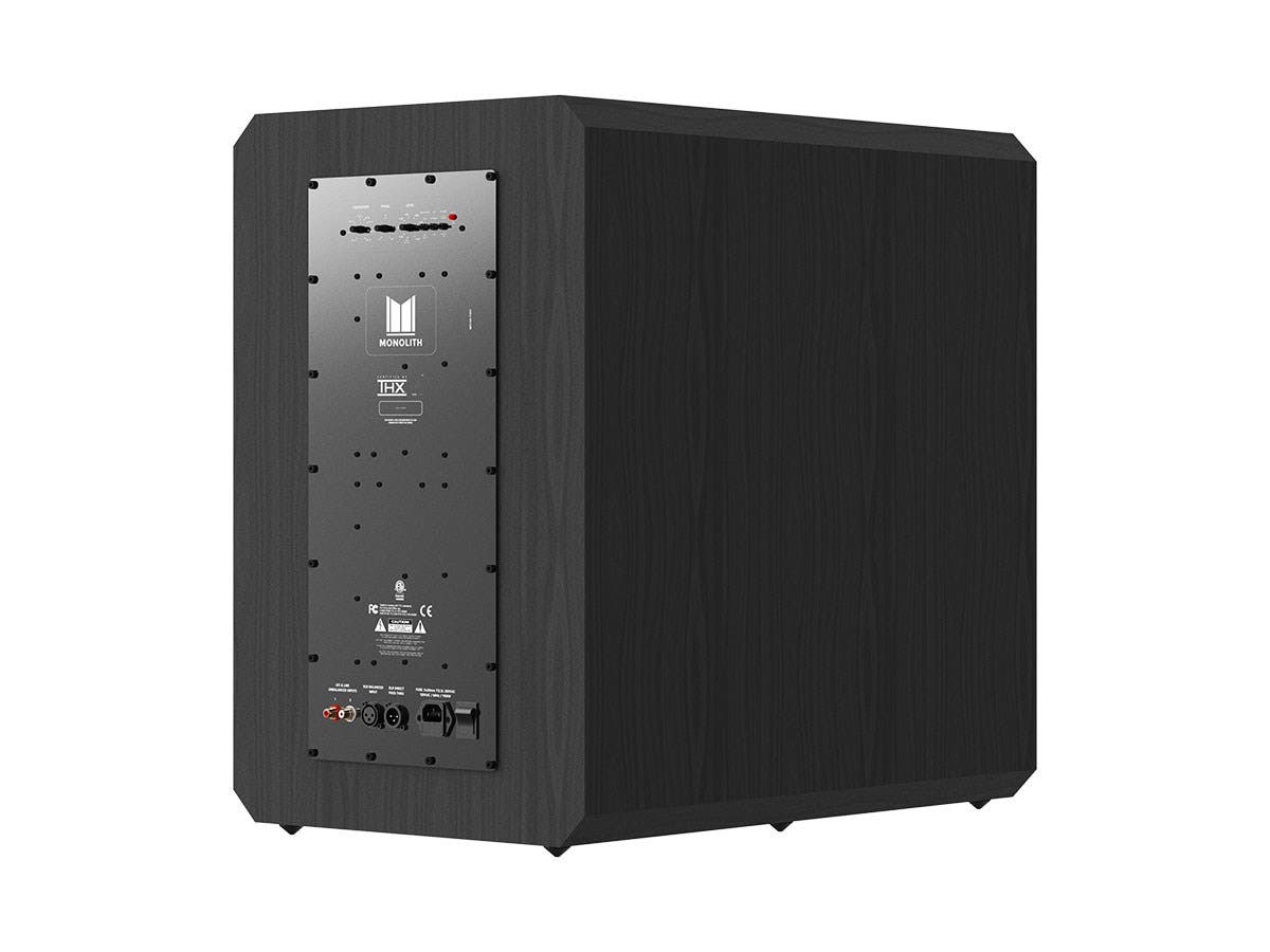 Monolith By Monoprice 1534 Thx Ultra Certified 1000 Watt Powered Bits Datas Circuit For Audio Splitter Subwoofer Small
