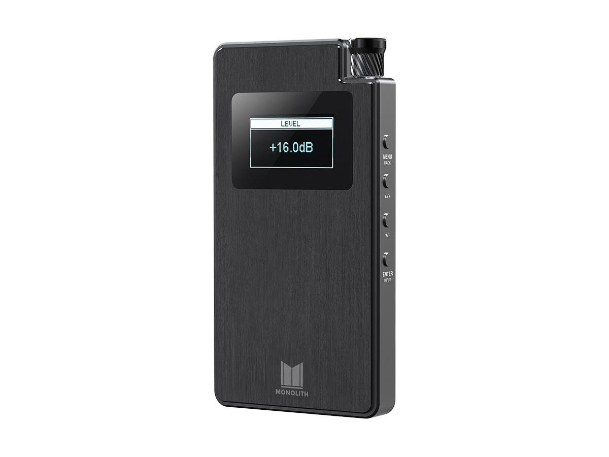 Monolith Portable Headphone Amplifier and DAC with THX AAA Technology