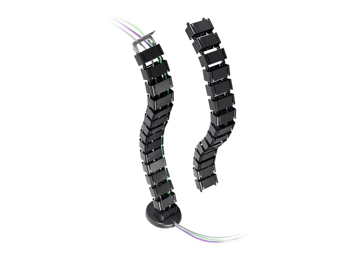 monoprice cable management spine  black