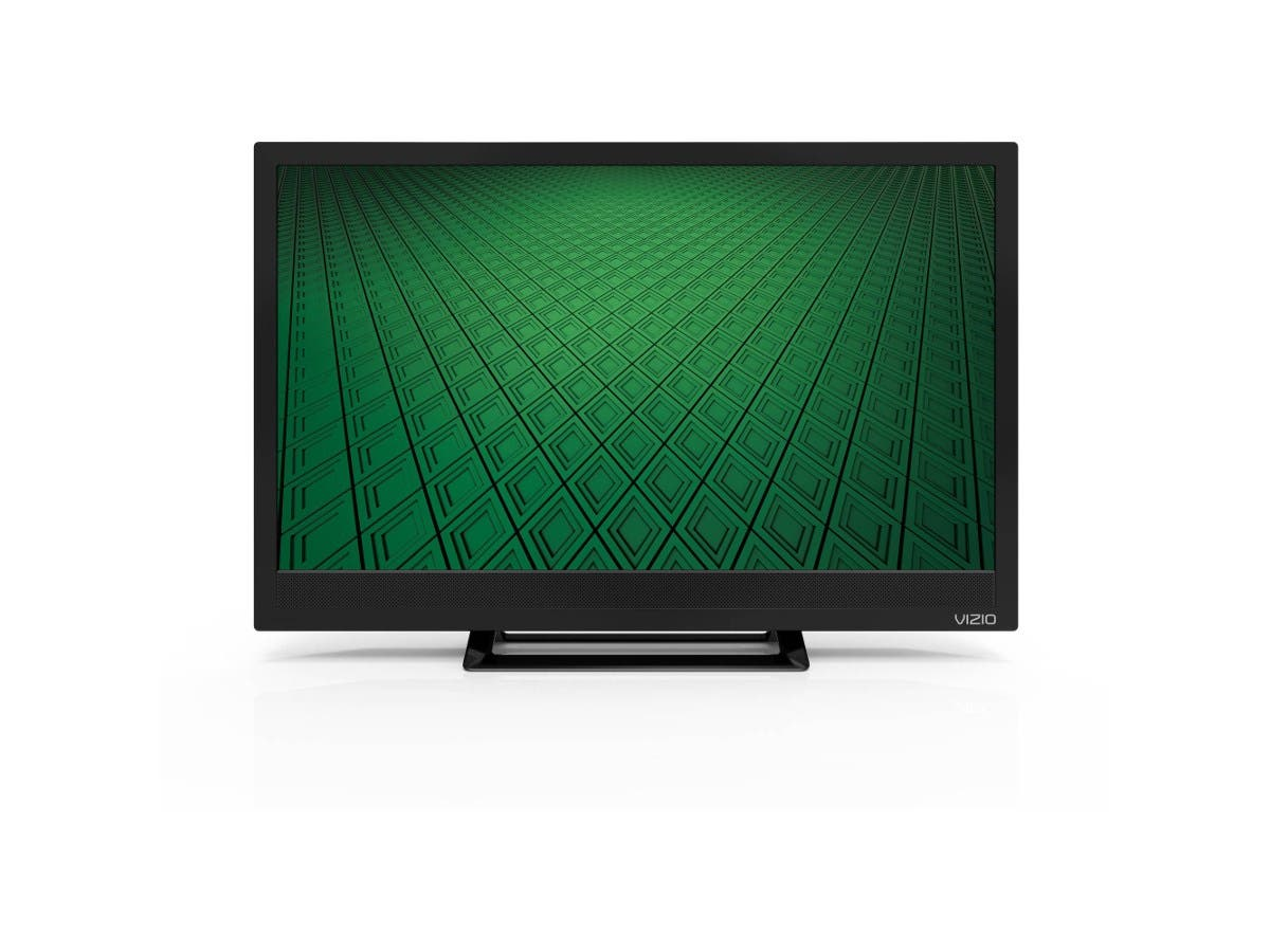 "VIZIO D D24hn-E1 24"" 720p LED-LCD TV - 16:9 - 178° / 178° - DTS TruSurround - 4 W RMS - Edge LED Backlight - 2 x HDMI - USB - PC Streaming"