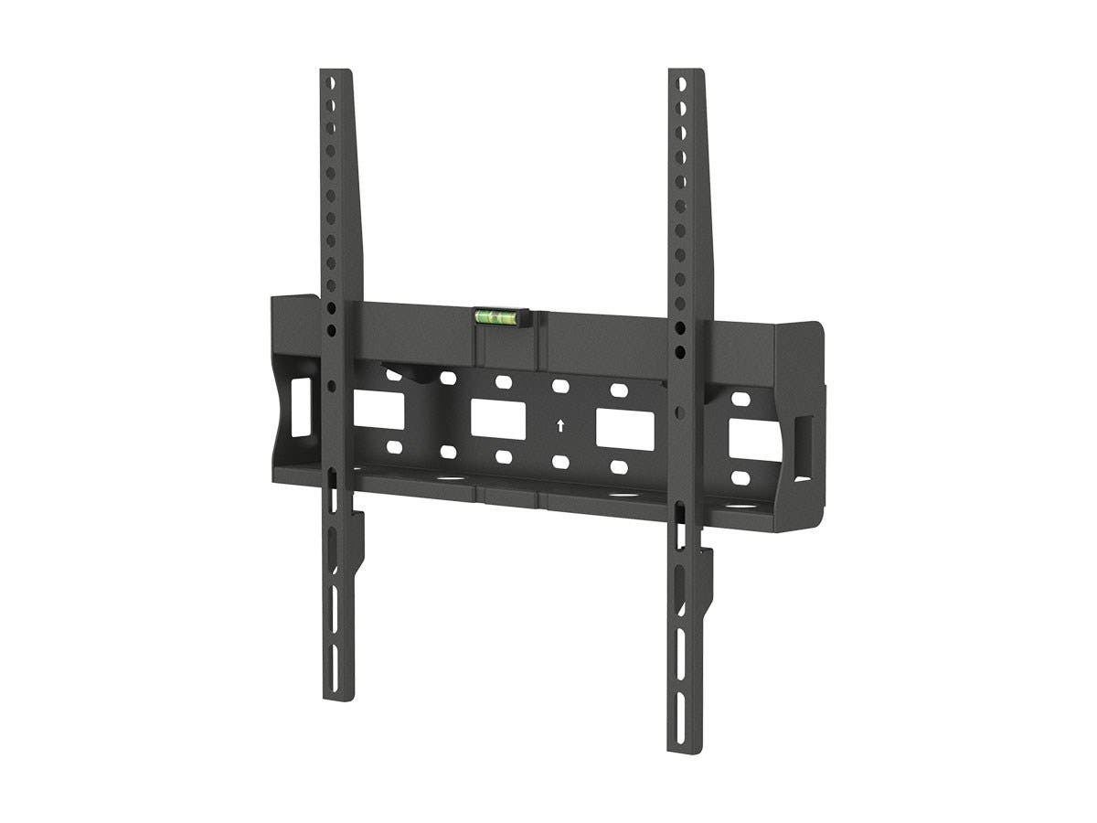 Monoprice Entegrade Series Fixed TV Wall Mount Bracket - For TVs 32in to 55in, Max Weight 77lbs, VESA Patterns Up to 400x400, Works with Concrete & Brick-Large-Image-1