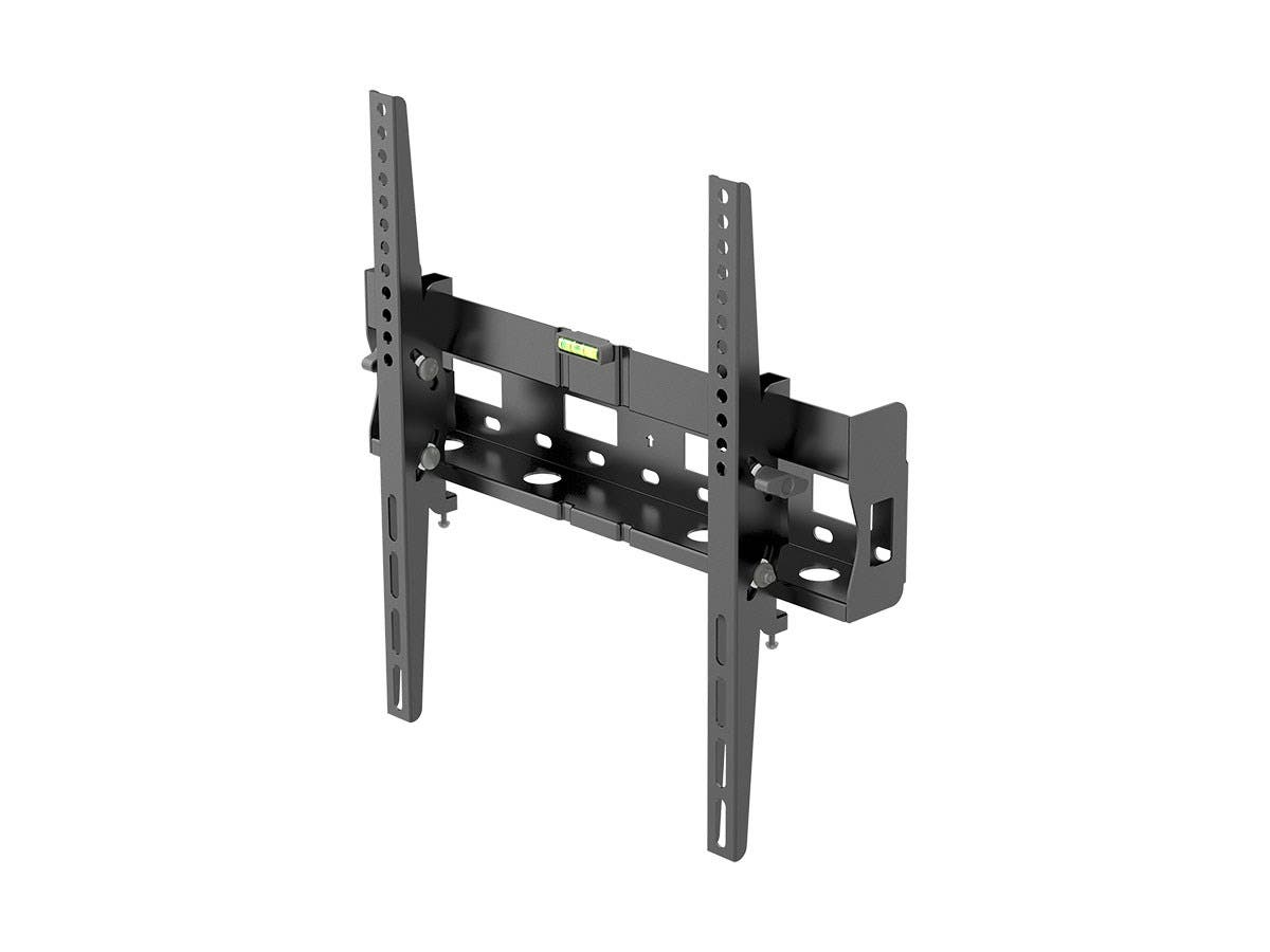 Monoprice Entegrade Series Tilt TV Wall Mount Bracket - For TVs 32in to 55in, Max Weight 77lbs, VESA Patterns Up to 400x400, Works with Concrete & Brick-Large-Image-1