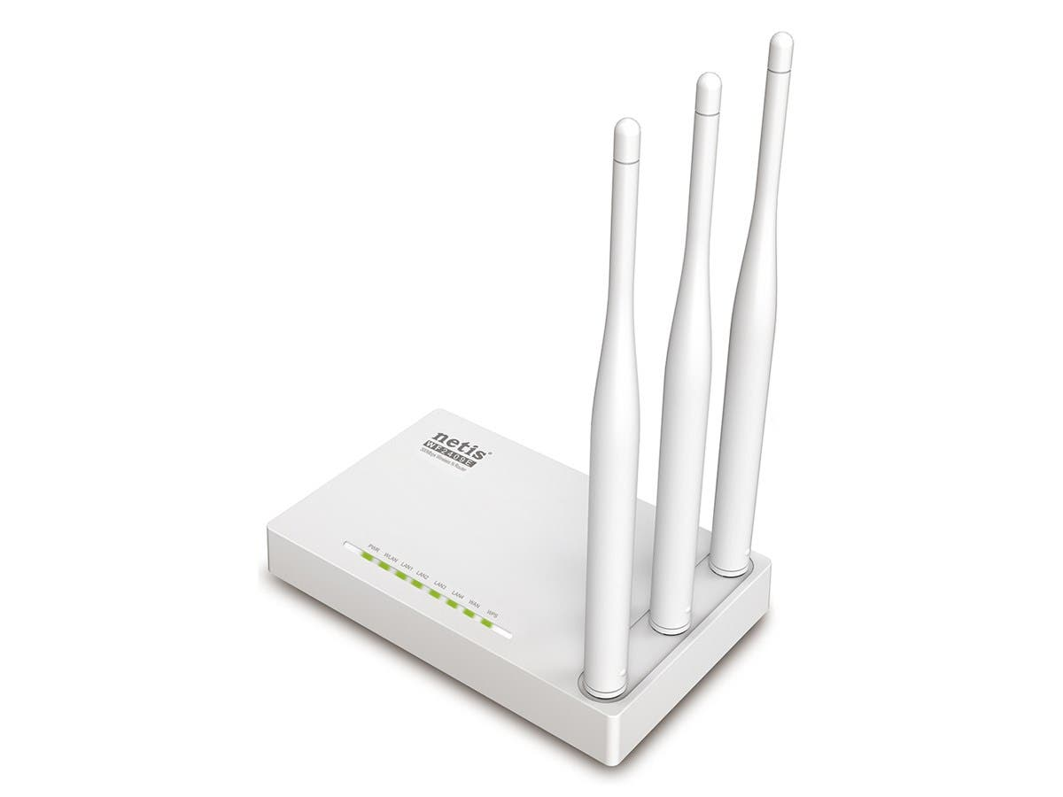 Monoprice 300Mbps Wireless N Router, 3 High Gain Antennas-Large-Image-1