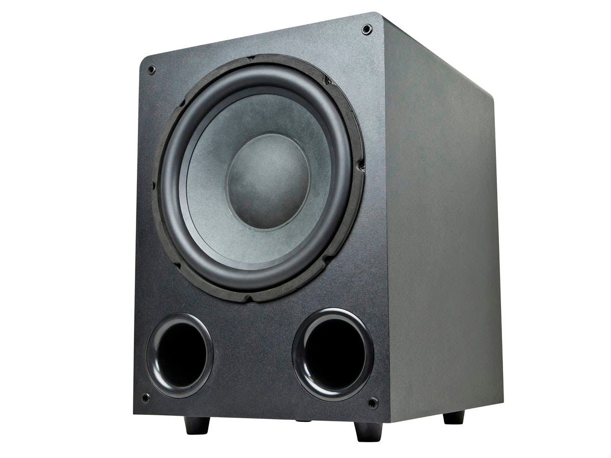 Premium Home Theater 250 Watt Powered Subwoofer - Black (Refurbished)