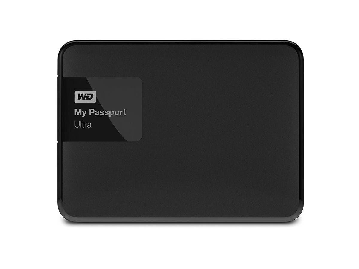 Western Digital My Passport Ultra 2TB USB 3.0 Secure Portable External Hard Drive w/auto backup - Black (Refurbished)
