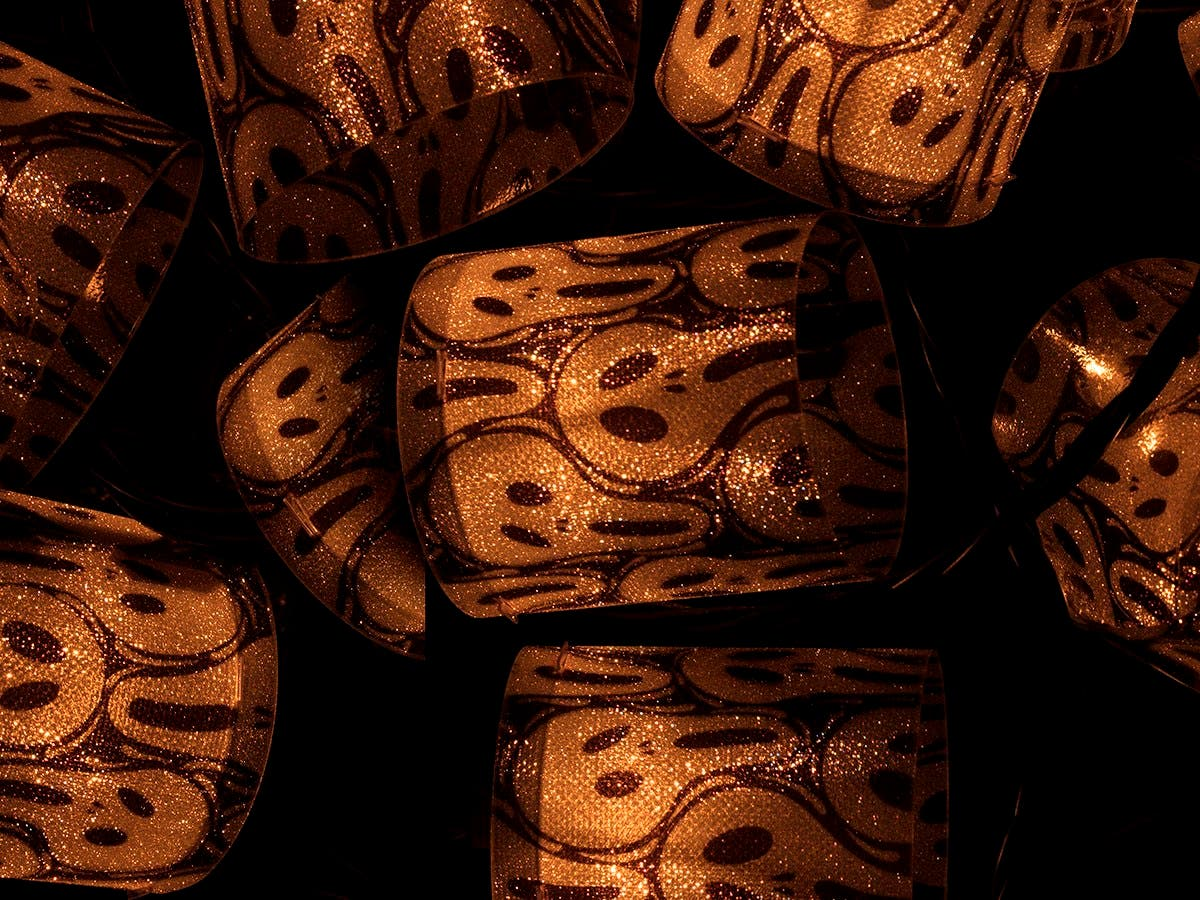 Monoprice 10 Count Skull Halloween Tube Light 11.5 ft-Large-Image-1