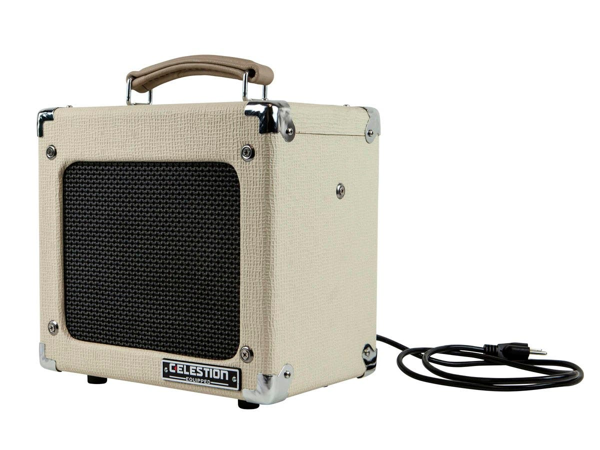 monoprice 5 watt 1x8 guitar combo tube amplifier with celestion speaker open box. Black Bedroom Furniture Sets. Home Design Ideas