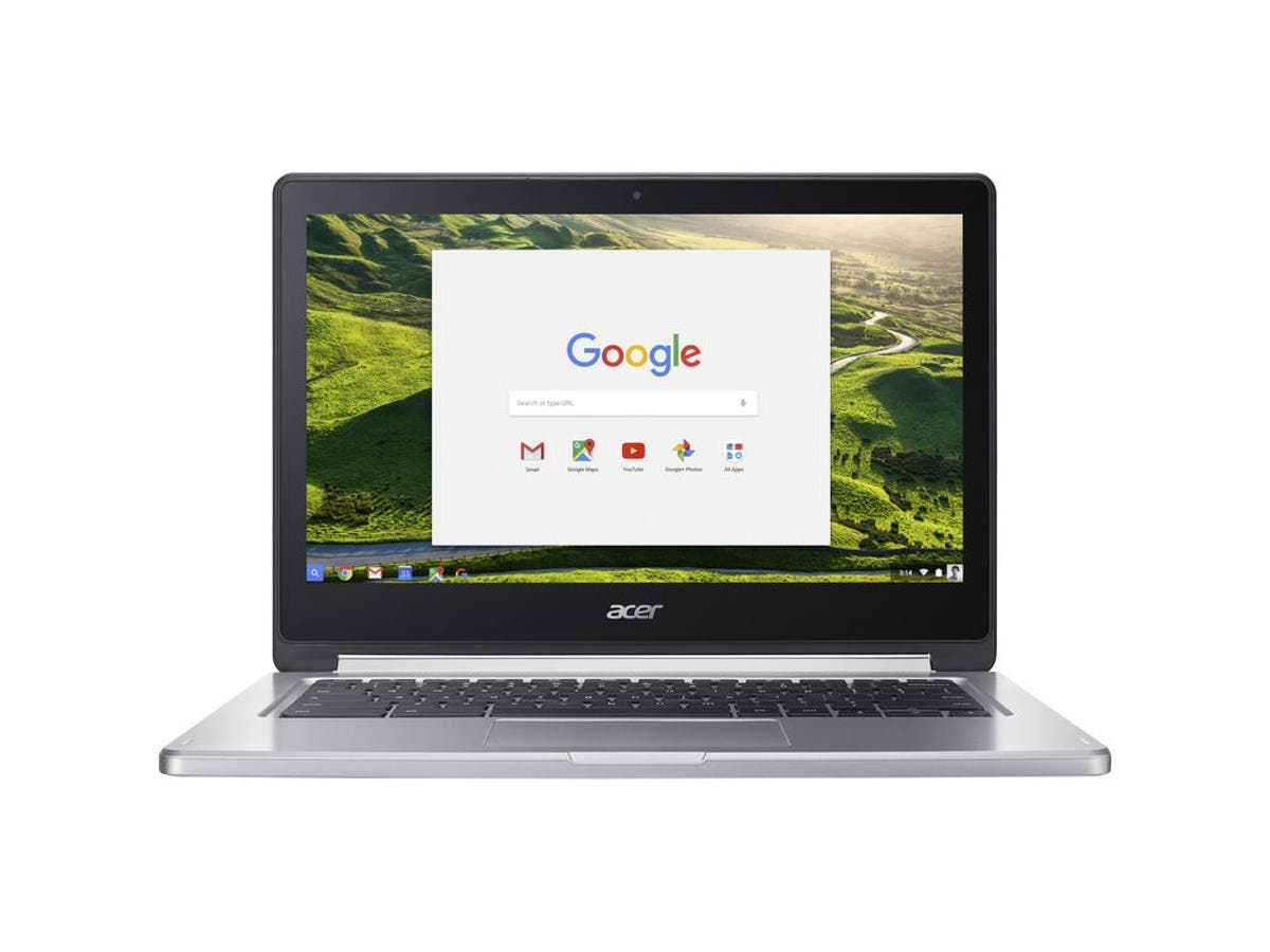 "Acer CB5-312T-K5X4 13.3"" Touchscreen Chromebook MTK M8173C (2.10 GHz) 4GB LPDDR3 Memory 32GB Flash Chrome OS (Recertified)"