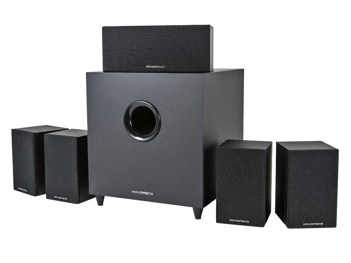 Premium 5.1-Ch. Home Theater System with Subwoofer (Open Box)