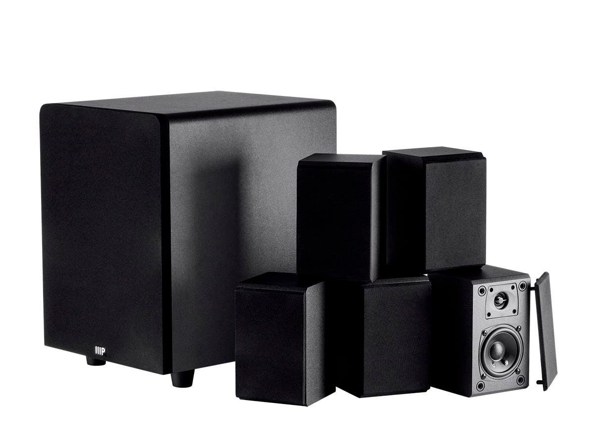 Premium Select 5.1 Channel Home Theater Satellite Speakers & Subwoofer (Open Box)