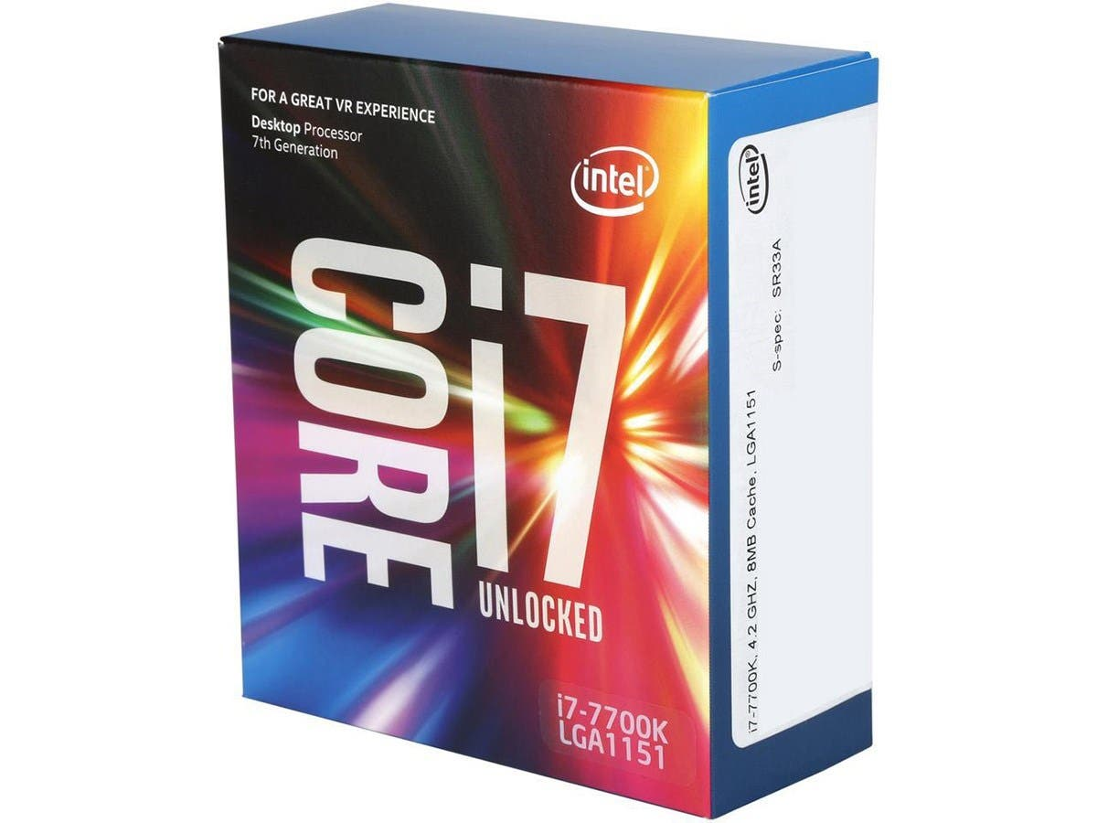 Intel Core i7-7700K Kaby Lake Quad-Core 4.2 GHz BX80677I77700K CPU (OPEN BOX)-Large-Image-1