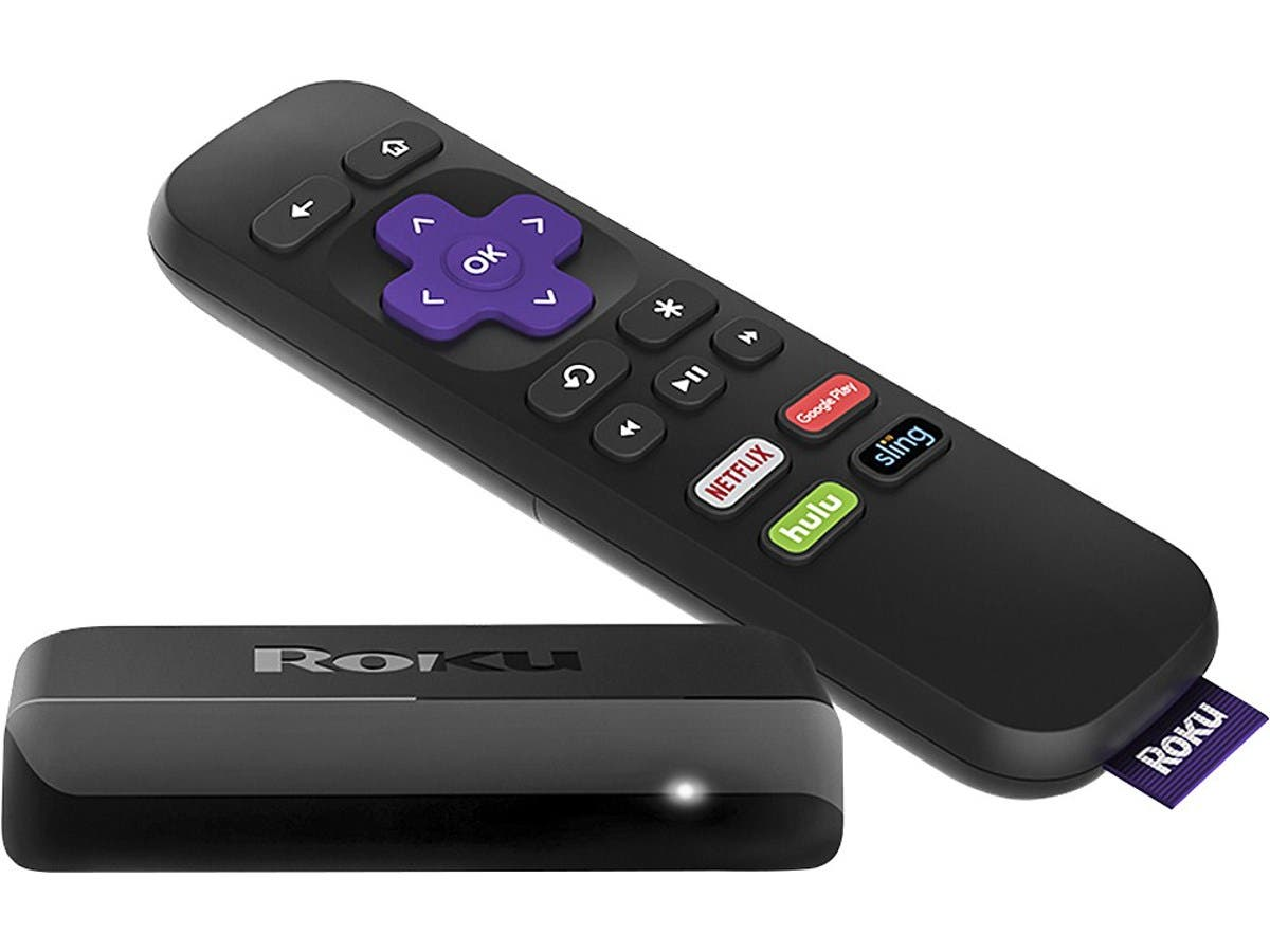 Roku Express Streaming Media Player (Recertified)