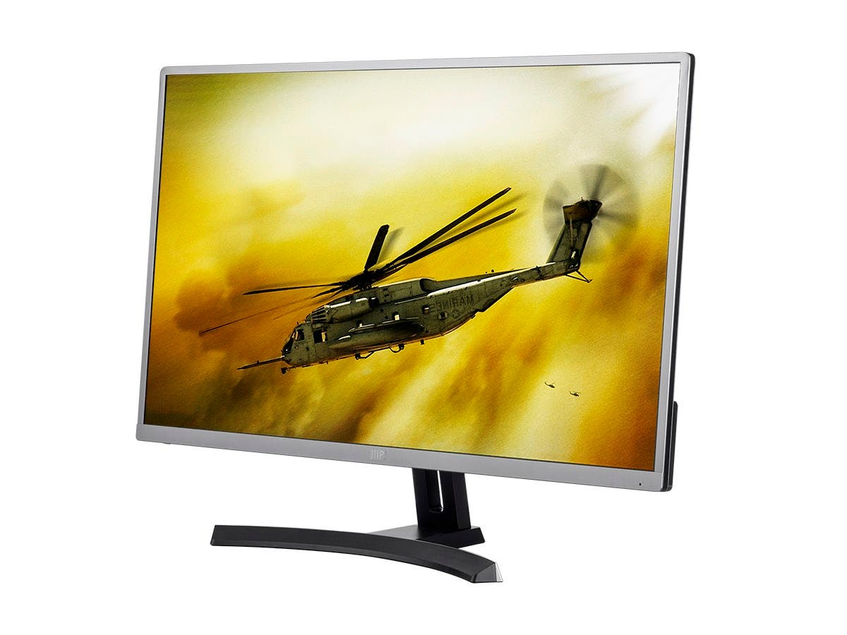27in WQHD 2560x1440p TN-LED 144Hz Ultra Slim Aluminum Monitor with FreeSync Technology