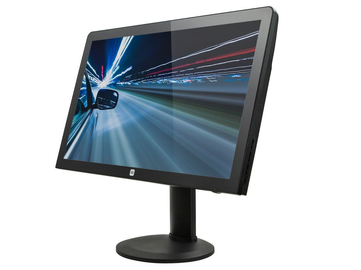 Monoprice 27-inch LED Backlit WQHD (2560x1440) Monitor DisplayPort HDMI DVI-DL VGA (Open Box)-Large-Image-1