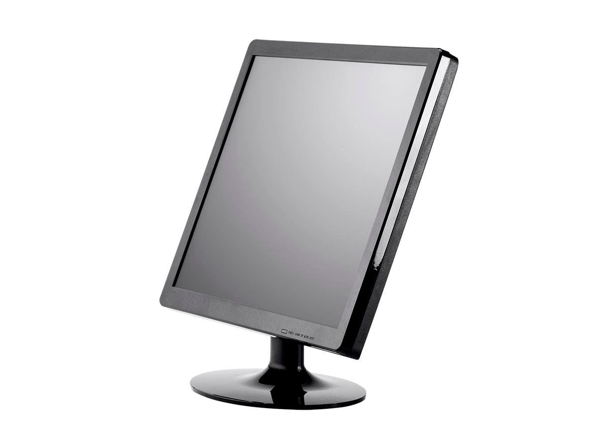Monoprice 17-Inch 5-Wire Resistive LCD Touch Screen Monitor (4:3) (Open Box)-Large-Image-1