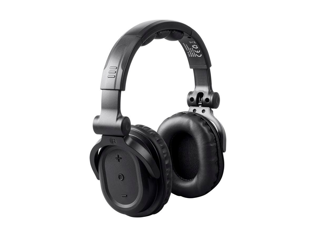 Monoprice Premium Hi Fi Dj Style Over The Ear Pro Bluetooth Headphones With Mic And Qualcomm Aptx Support 8323 With Bluetooth Monoprice Com