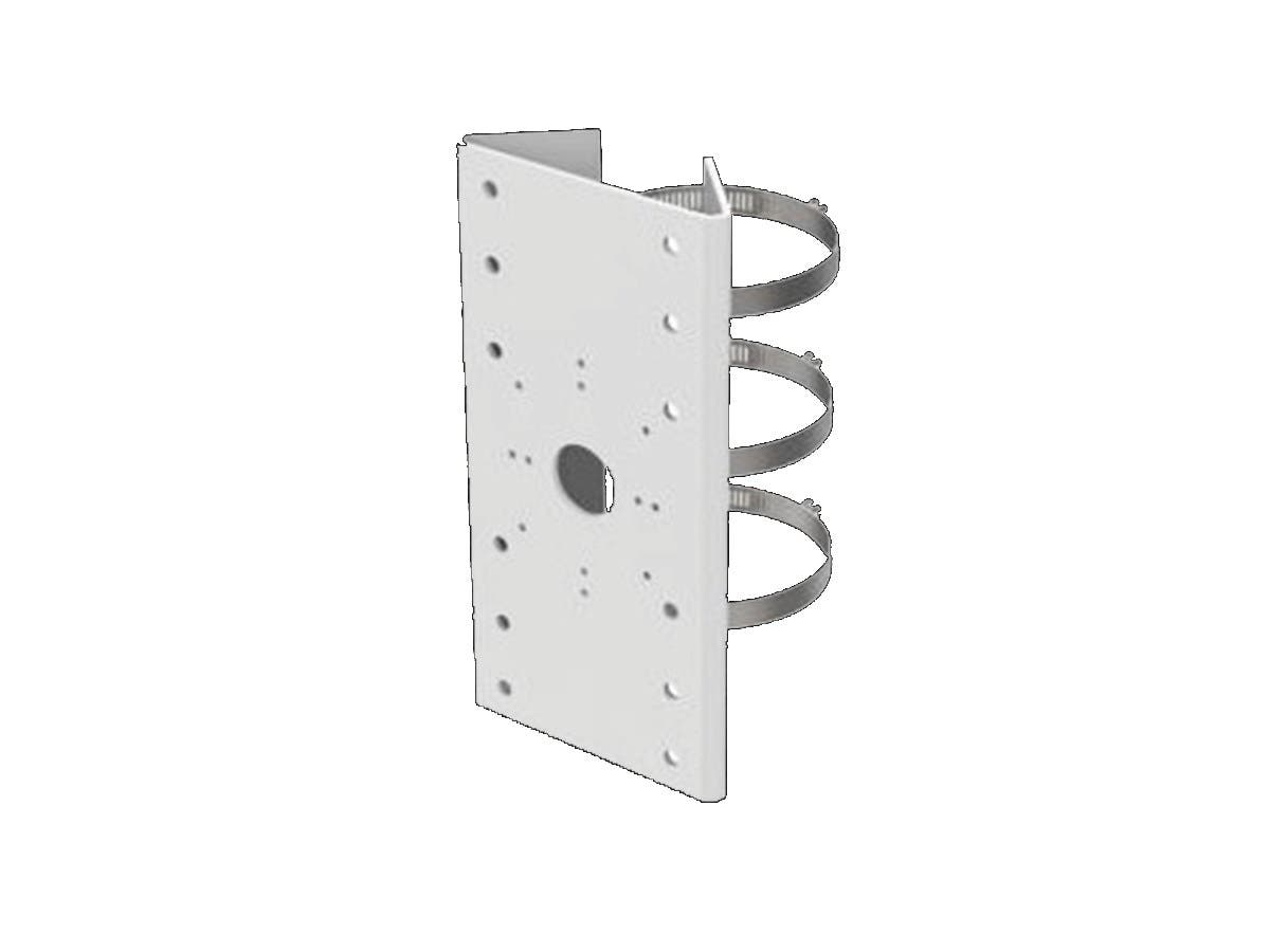 Universal Vertical Pole Mount, Steel, 127 x 46 x 250mm