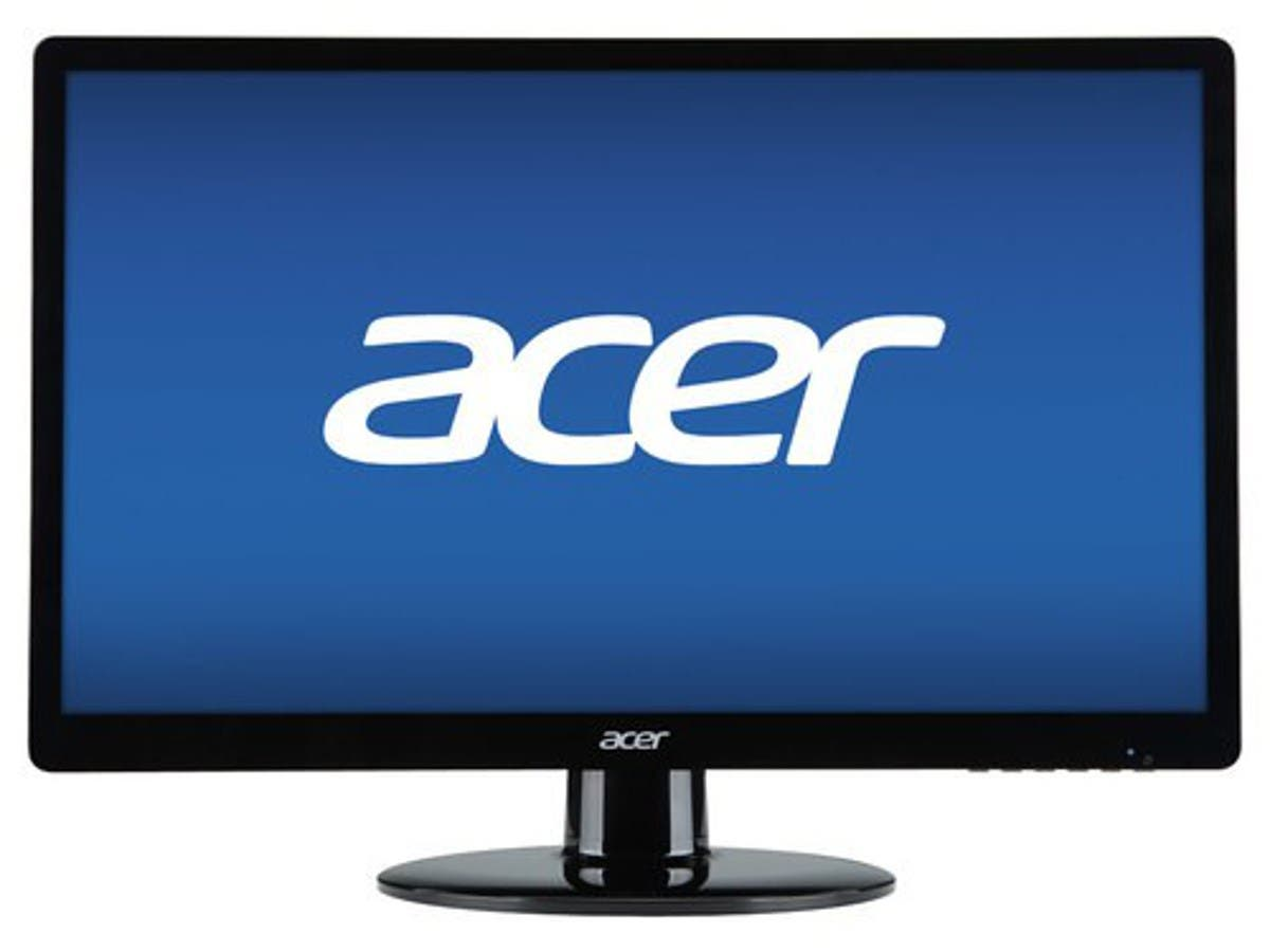 Acer S200HQL 19.5' LED LCD Monitor - 16:9 - 5 ms (Recertified)