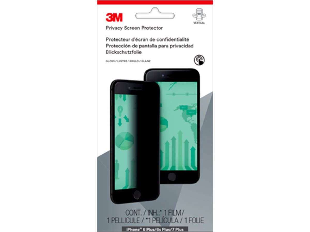 3M Portrait Privacy Screen Protector for iPhone 6 Plus, 6S Plus, 7 Plus - MPPAP010