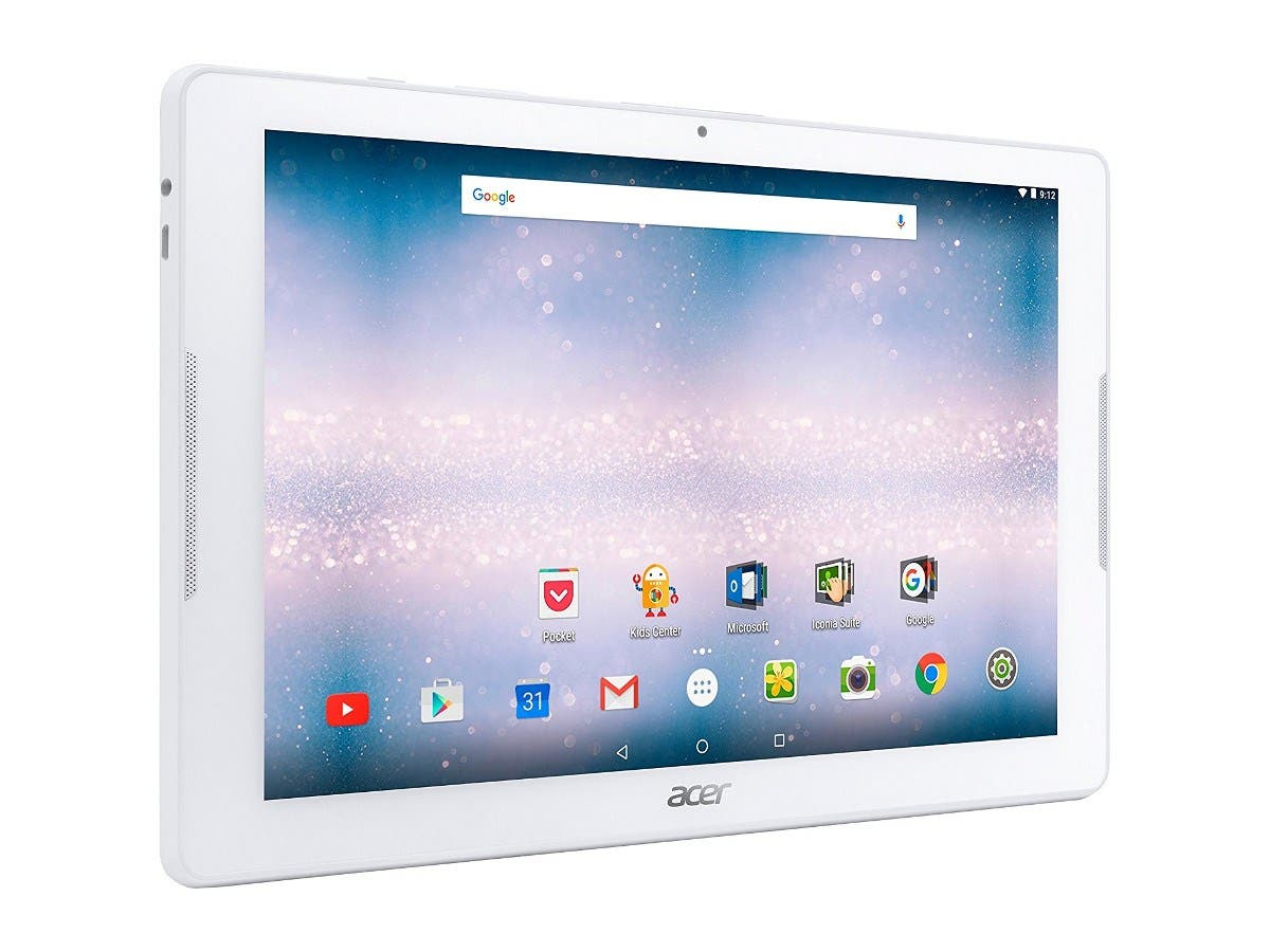 """Acer NT.LCNAA.002;B3-A30-K57G 10.1"""" 16GB Android 6.0 11ABGN BT 4 Tablet"""