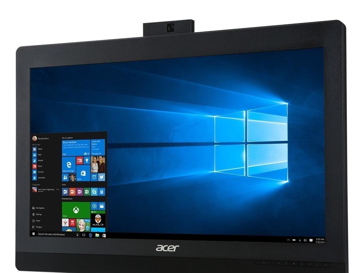 Acer Veriton Z4820G All-in-One Computer - Intel Core i5 (6th Gen) i5-6500 3.20 GHz - Desktop - 8 GB DDR4 SDRAM RAM - 500 GB HDD - DVD-Writer DVD-RAM/±R/±RW - Windows 7 Professional 64-bit - -Large-Image-1