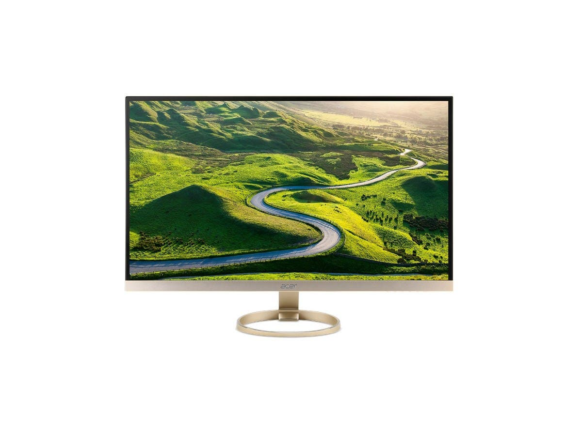 "Acer H277HK ‑ 27"" IPS LED Monitor ‑ 4K UltraHD ‑ White/Silver-Large-Image-1"