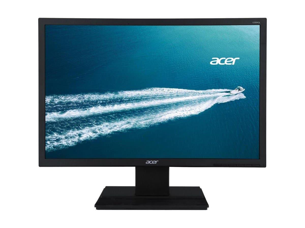 """Acer V206WQL bm 19.5"""" Monitor 14X9 IPS VGA 6MS"""