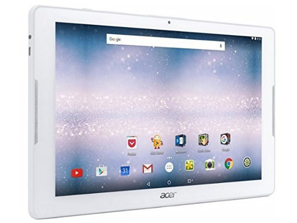 Acer NT.LCMAA.001 Iconia One 10 B3-A30-K6Yl - Tablet - Android 6.0 (Marshmallow) - 32 Gb Emmc - 10.1 Inch Ips (1280 X 800) - Usb Host - Microsd Slot - White