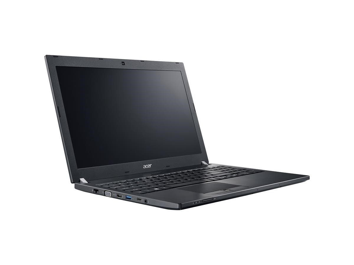"Acer TravelMate P658-M TMP658-M-70S3 15.6"" LED (In-plane Switching (IPS) Technology) Notebook - Intel Core i7 i7-6500U Dual-core (2 Core) 2.50 GHz - 8 GB DDR4 SDRAM RAM - 256 GB SSD-Large-Image-1"