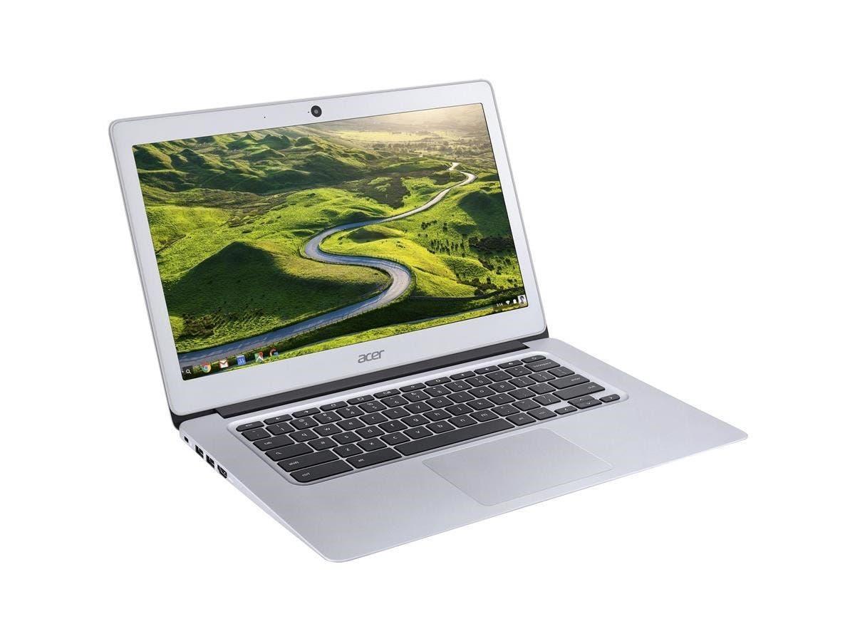 "Acer Aspire CB3-431-C7VZ 14"" LED (In-plane Switching (IPS) Technology) Chromebook - Intel Celeron N3160 Quad-core (4 Core) 1.60 GHz - 4 GB LPDDR3 RAM - 32 GB Flash Memory Capacity"