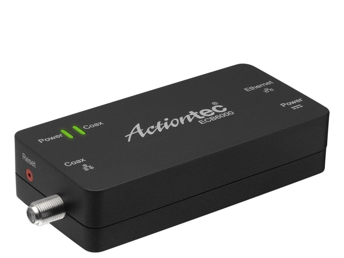 Actiontec MoCA 2.0 Network Adapter - Single - Turns any Coax Port into a High Speed Ethernet Connection