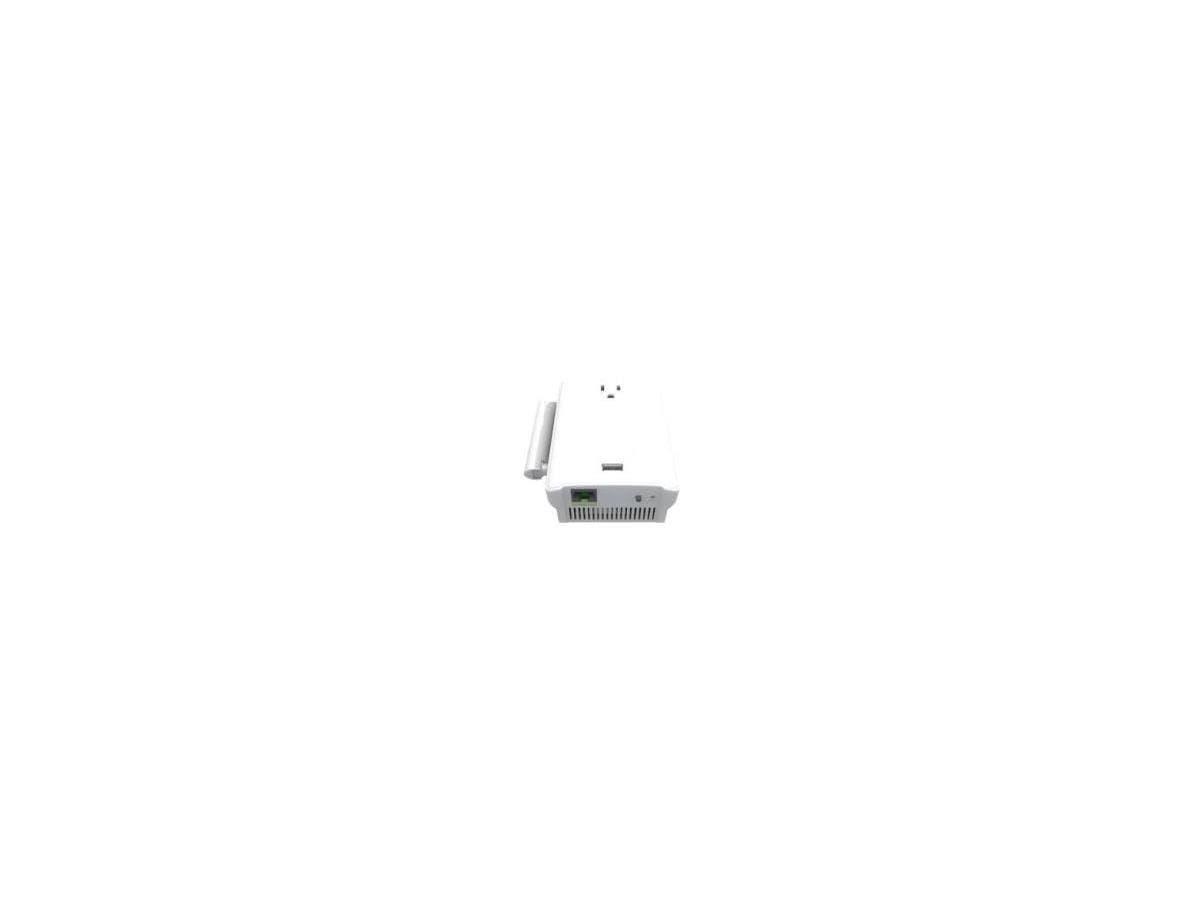 Amped Wireless REC22P IEEE 802.11ac 1.17 Gbit/s Wireless Range Extender - 5 GHz, 2.40 GHz - 2 x Antenna(s) - 1 x Internal Antenna(s) - 1 x External Antenna(s) - 1 x Network (RJ-45) - USB - Power Suppl