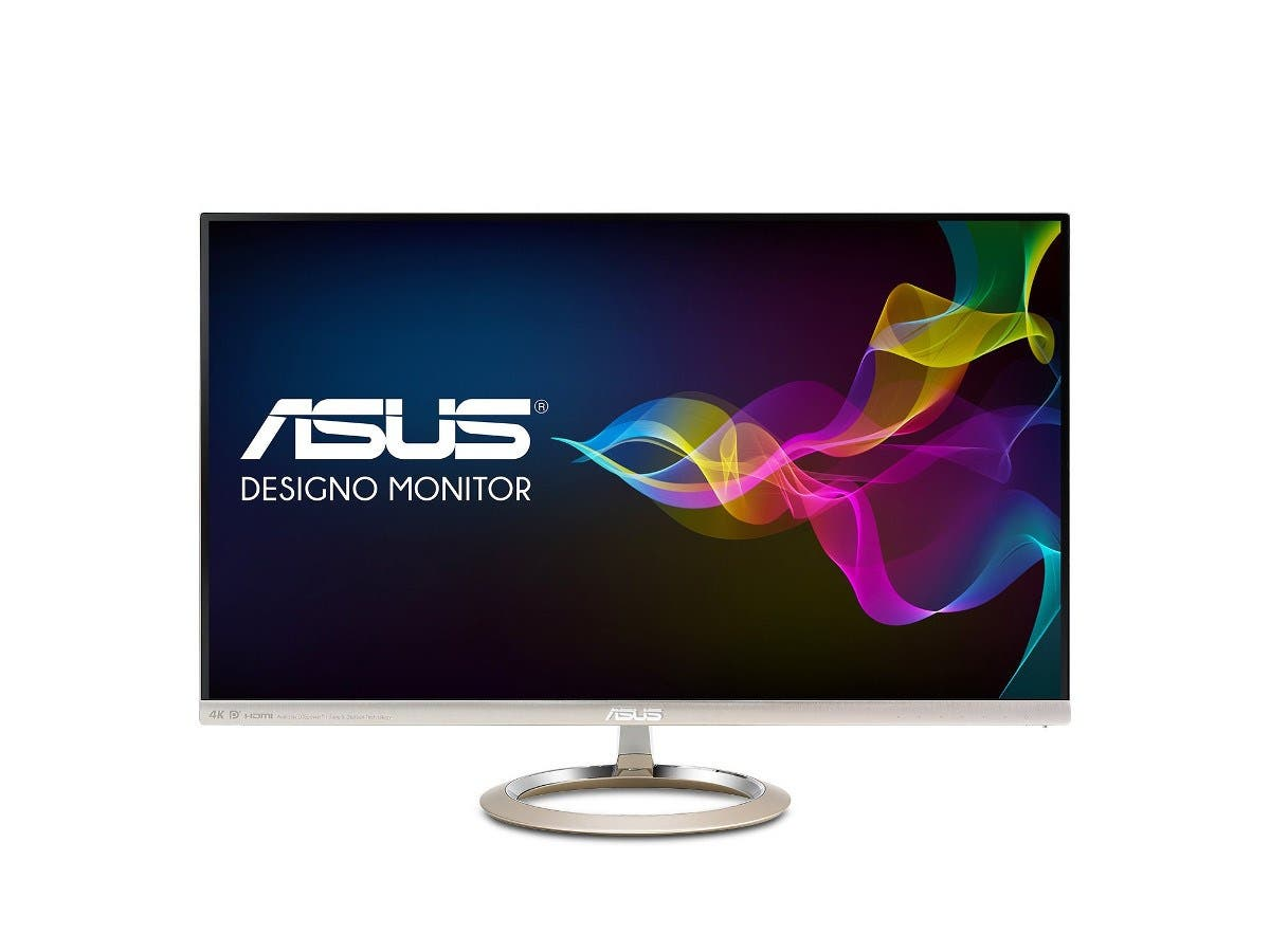 "ASUS Designo MX27UC 27"" 4K UHD IPS DP HDMI USB Type-C Eye Care Monitor with Adaptive Sync -Large-Image-1"