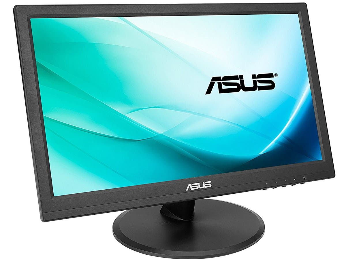 "ASUS 15.6"" 1366x768 HDMI VGA 10-point Touch Eye Care Screen LCD Monitor (VT168H) -Large-Image-1"