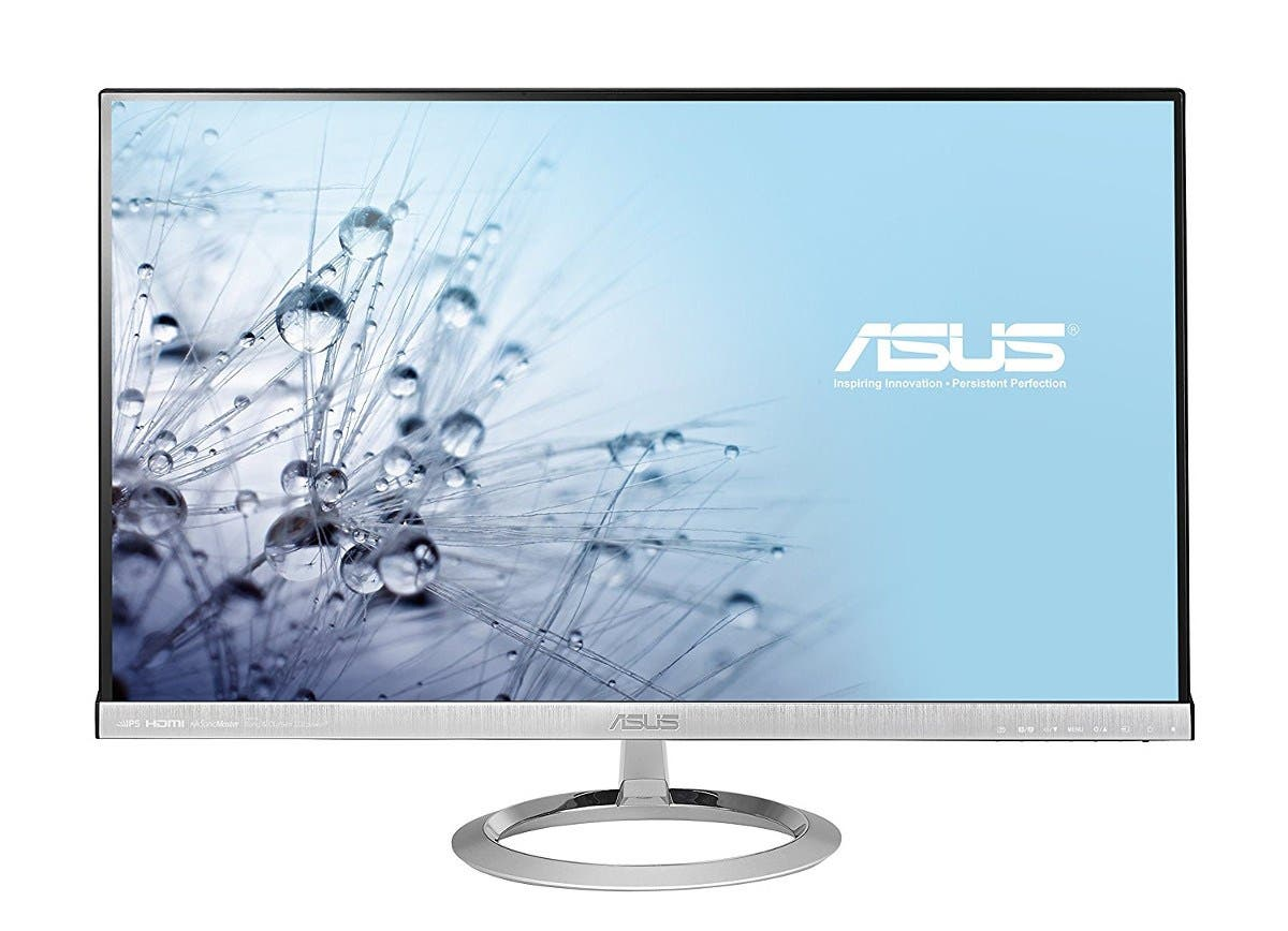"ASUS Designo MX279H 27"" Full HD 1920x1080 IPS HDMI VGA Frameless Monitor -Large-Image-1"