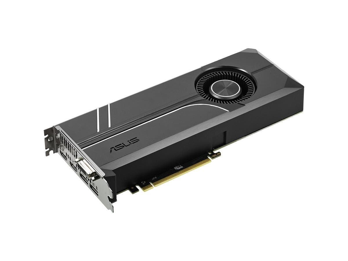 Asus TURBO-GTX1060-6G GeForce GTX 1060 Graphic Card - 1.51 GHz Core - 1.71 GHz Boost Clock - 6 GB GDDR5 - PCI Express 3.0 - Dual Slot Space Required - 192 bit Bus Width - Fan Cooler - OpenGL 4.5 - 2 x
