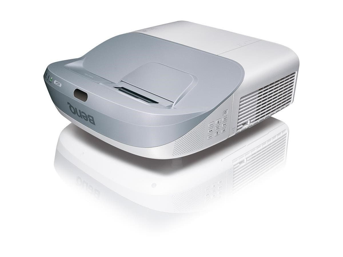 BenQ MW883UST 3D Ready DLP Projector - 720p - HDTV - 16:10 - Front - Interactive - 240 W - 2500 Hour Normal Mode - 4000 Hour Economy Mode - 1280 x 800 - WXGA - 10,000:1 - 3300 lm - HDMI - USB - 410 W -Large-Image-1