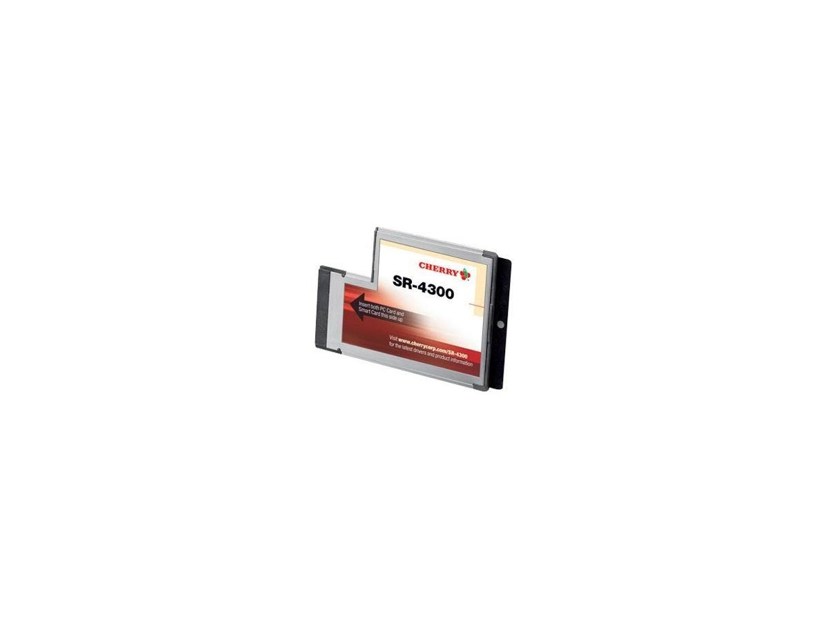 Cherry SR-4300 ExpressCard Smart Card Reader - Smart Card - ExpressCard