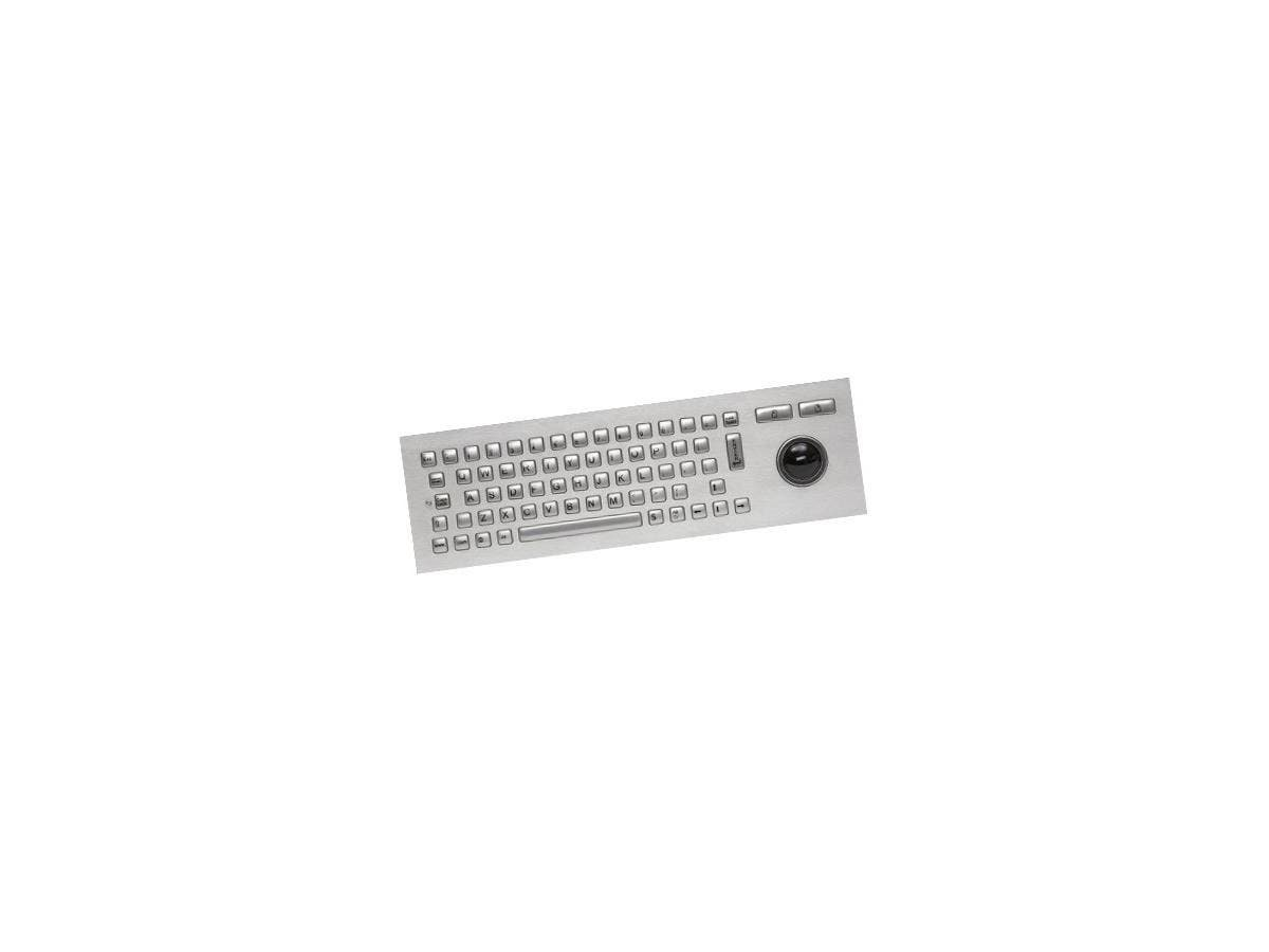 Cherry J86-4400 Vandal-Proof Keyboard - USB - 67 Keys - Stainless Steel