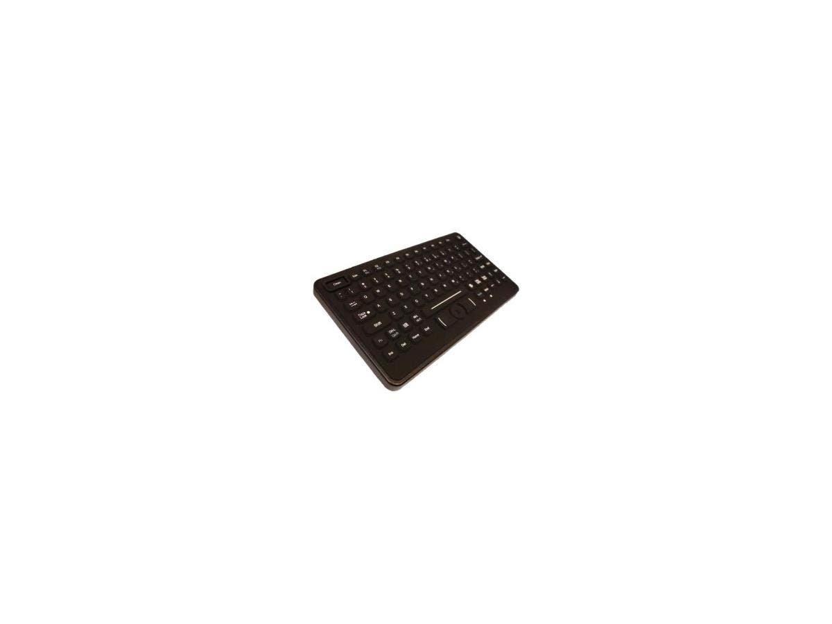 Cherry J84-2120 Series Keyboard - 83 Keys - QWERTY Layout - USB - Black-Large-Image-1