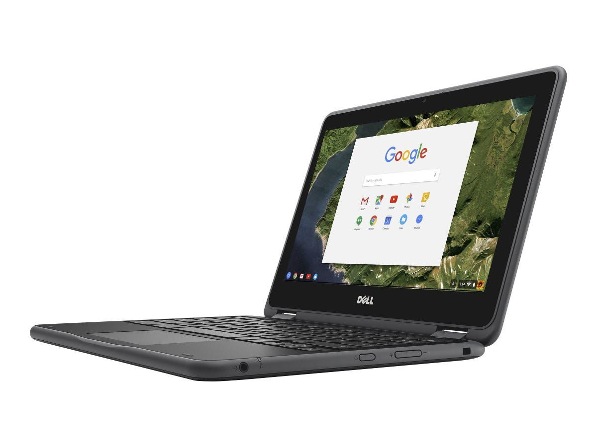 "Dell Chromebook 3180 Celeron N3060 1.6GHz 4GB 16GB SSD 11.6"" HD Chrome OS-Large-Image-1"