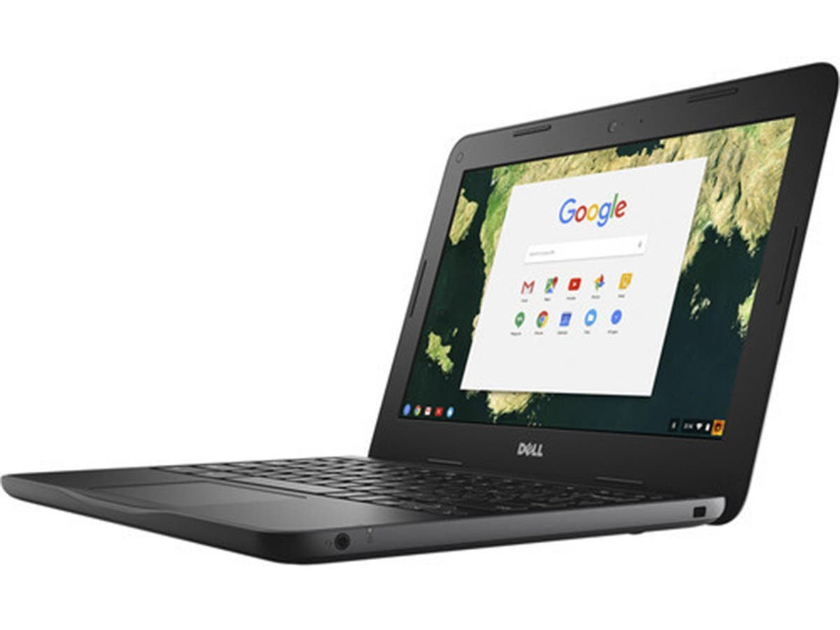 "Dell Chromebook D44PV 3180 Non Touch Celeron N3060 2GB 16GB 11.6"" - D44PV-Large-Image-1"