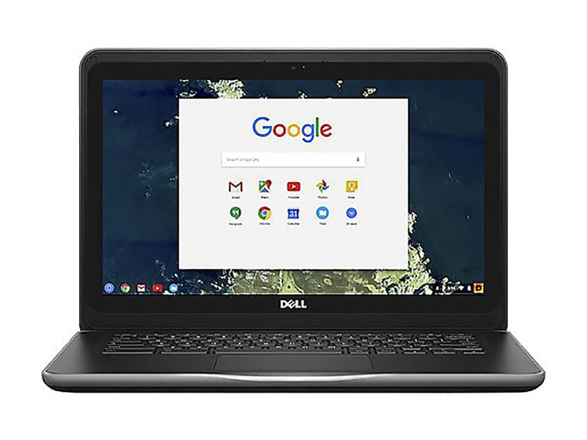 "Dell Chromebook 13 3380 - 13.3"" - Celeron 3855U - 4 GB RAM - 32 GB SSD - VNPVR-Large-Image-1"