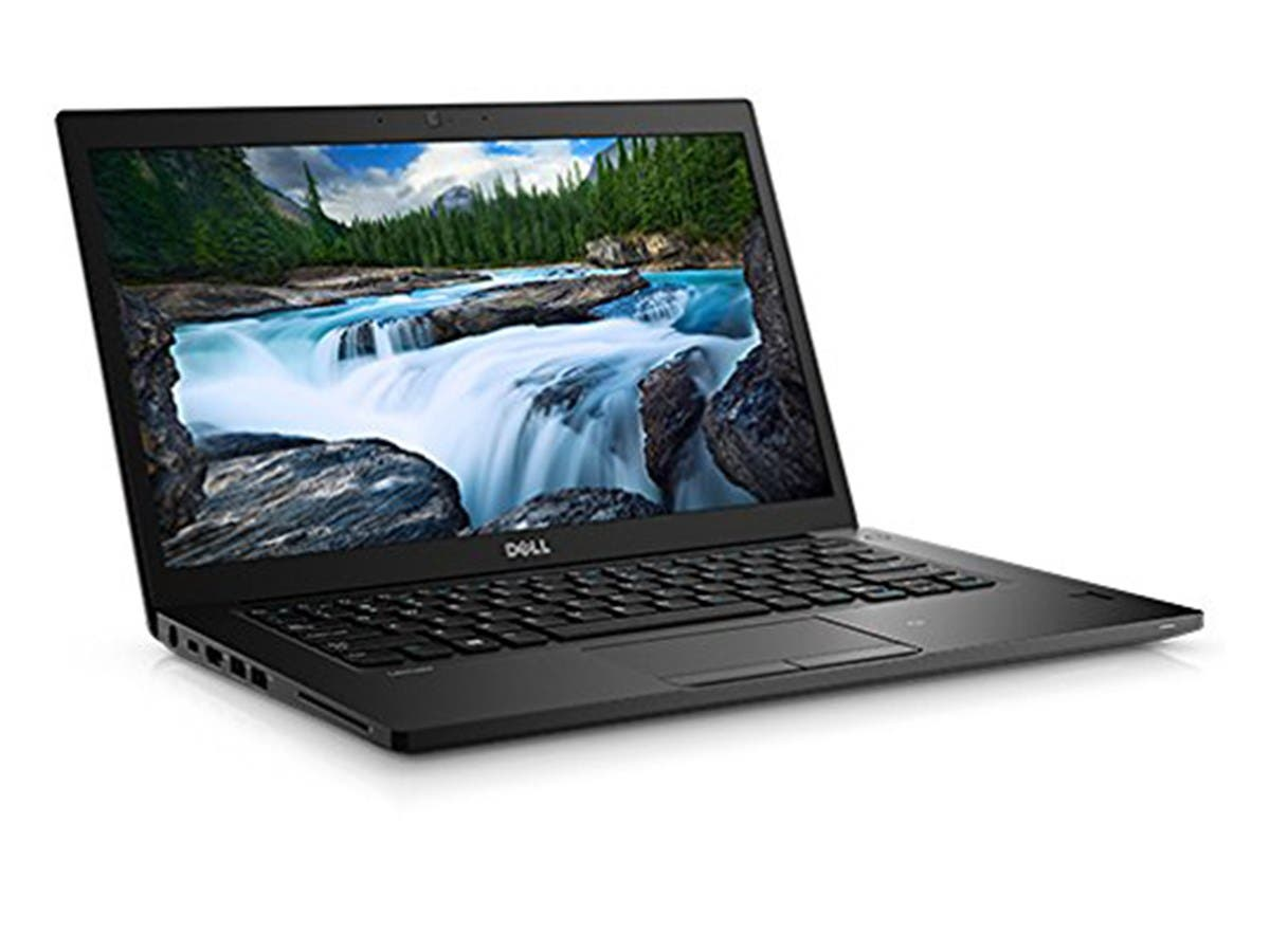 "Dell TFJ45 Latitude 7480 Laptop, 14"" FHD, Intel Core i7-7600U, 16GB DDR4, 256GB Solid State Drive, Windows 10 Pro -Large-Image-1"