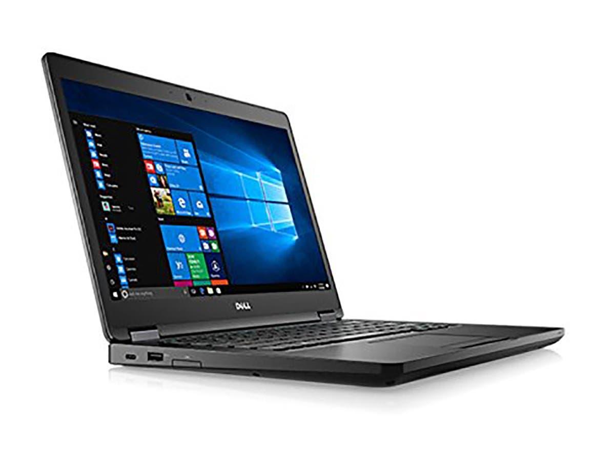 "Dell Latitude 5480 14"" Laptop Computer - Black; Intel Core i5-7300U Processor 2.6GHz; Microsoft Windows 10 Pro 64-bit; 8GB DDR4-2400 SDRAM; 256GB SSD-Large-Image-1"