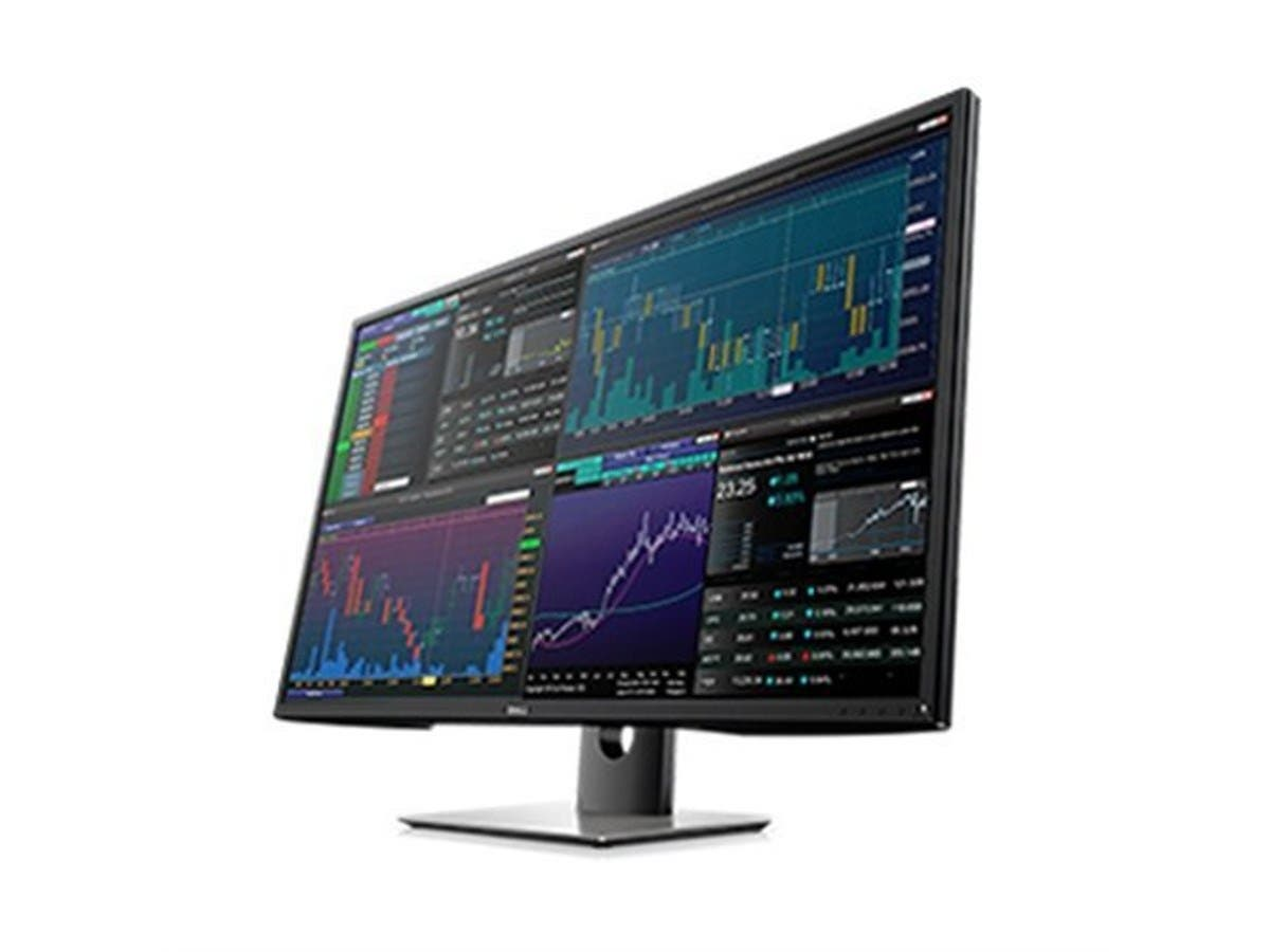 Dell Multi-Client Monitor P4317Q - 43-inch Ultra 4K 3840 x 2160, DisplayPort HDMI USB 3.0 RS232 -Large-Image-1