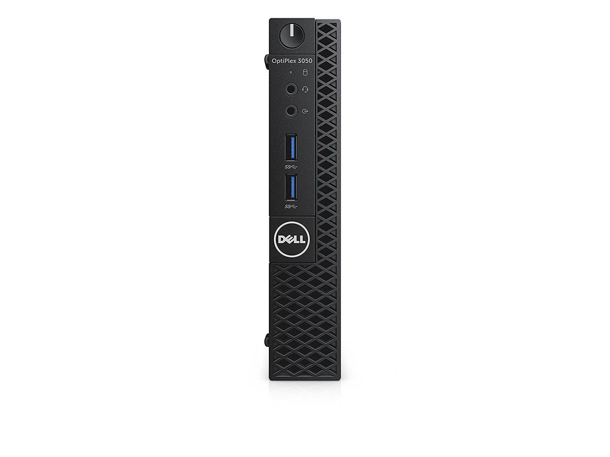 Dell OptiPlex 3050 MFF I5-7500 4GB 500GB Hard Disk Drive Windows 10 Professional - JG20P-Large-Image-1
